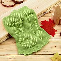 Носки для йоги Yoga Socks зеленый
