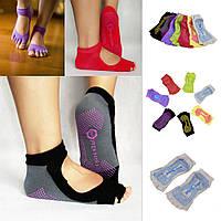 Носки для йоги Yoga Socks красный