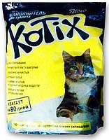 Наполнитель силикагелевый для кошачьего туалета Kotix (Котикс), 7,6 л (3,2 кг)