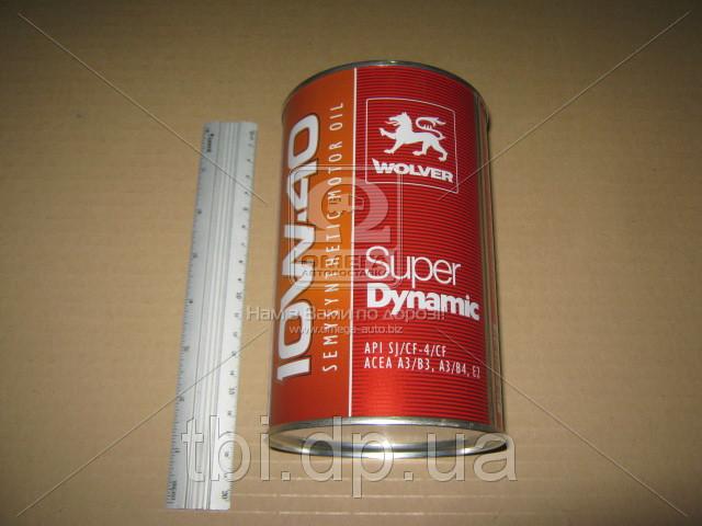 Масло моторное Wolver  Super Dynamic SAE 10W-40 API SJ/CF-4 (Канистра 1л)