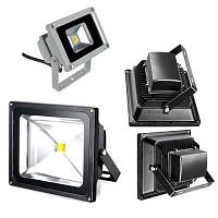 Прожектор RGB с пультом 10-50W