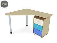 Детский стол и стул Snite Стол рабочий ЛКМ-402