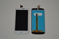 Оригинальный дисплей (модуль) + тачскрин (сенсор) для Acer Liquid Z530 (белый цвет)