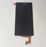 Оригинальный дисплей (модуль) + тачскрин (сенсор) для Huawei P8 | GRA-L09 (черный цвет)