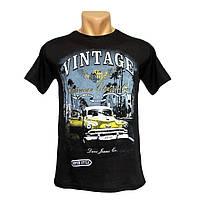 Стильная мужская футболка Vintage - №2383