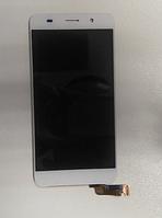 Дисплей (модуль) + тачскрин (сенсор) для Huawei Y6 | Honor 4A (белый цвет)