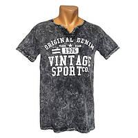 Стильная мужская футболка Vintage - №2394