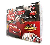 Danko Игра большая 3в1 Тачки Супер игра Парковка Мemory от 3х лет