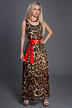 Платье шифоновое мод 303-4,размер 44,46,48,