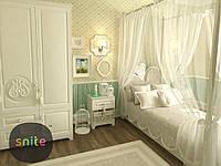 Модульная мебель Snite Комплект молодежной мебели Белоснежка