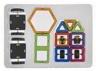 Конструктор Magplayer магнитный набор 40 эл. MPB-40, фото 3
