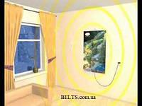 Электрический обогреватель на стену «Домашний уют»
