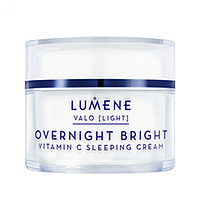 Ночной восстанавливающий крем для лица LUMENE VALO [LIGHT] OVERNIGHT BRIGHT SLEEPING CREAM