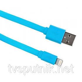Кабель Logan USB 2.0 - Lightning , 1m (EL118-010BU)