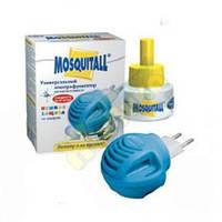 MOSQUITALL(Москитол) Набор(прибор электрофумигатор+жидкость нежная защита 45 ночей +подарок)