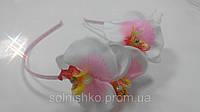Обруч на волосы Орхидеи