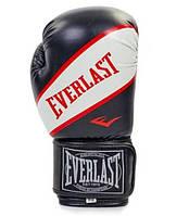 Перчатки боксерские EVERLAST SUPER STAR PU 12 oz черные