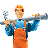 Монтаж канализационных труб из полипропилена (ПП)