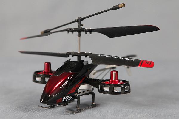 4х канальные вертолеты