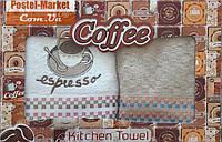 Махровые кухонные полотенца (2 пр.) 2MG007 Espresso