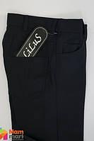 Школьные брюки для мальчика из костюмной ткани Lilus, цвет черный р.30 - 128 см