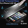 Защитное стекло Premium 2.5D для Apple iPhone 5/5s