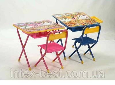 Набор детской трансформируемой мебели №3  Винни пух/розовый