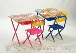 Набор детской трансформируемой мебели №3  Винни пух/розовый , фото 2