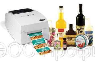 Принтер цветных этикеток LX500e