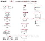 Итальянский раскладной модульный диван OLIMPIA фабрика Asnaghi Salotti, фото 5