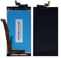 Дисплейный модуль Lenovo A6000 A6010 K3 черный оригинал