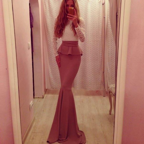 Платье рыбка золотой песок беж