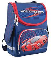 """Рюкзак школьный каркасный World of speed 553426, ТМ """"Smart"""""""