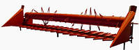 Пристосування для збирання соняшника на John Deere