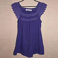 Майка летняя блуза Zara 100% хлопок, р. М, на 42-44-46