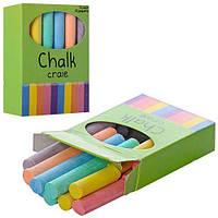 Набор цветных мелков MK 1158, 12 штук