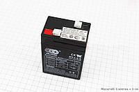 Аккумулятор гелевый OT4,5-6 - 6V4,5Ah (L70*W48*H100,mm) для ИБП, 2017 год
