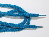 Шнурки круглые 6мм акрил, мор.волна