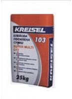 Крайзель 103 Supermulti (25кг) - Клей для плитки морозостойкий усиленный Кreisel