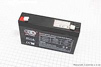 Аккумулятор гелевый OT7-6 - 6V7Ah (L150*W35*H94,mm) для ИБП, игрушек, 2017