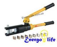 Пресс гидравлический ручной-120Кв, для опрессовки кабельных наконечников, 853