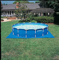 Каркасный бассейн Intex 28218 (366 х 99см.) Metal Frame Pool + Фильтрующий насос., фото 1