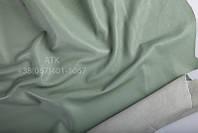 Кожа одежная наппа серовато-ментоловый 01-0012
