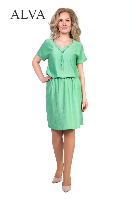 Лёгкое летнее женское платье с вискозы разных цветов.