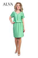 Лёгкое летнее женское платье с вискозы разных цветов., фото 1