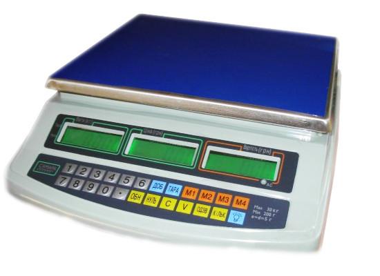 Торговые весы ВТЕ-6-Т1-СМ до 6 кг