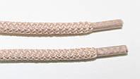 Шнурки круглые 6мм плотные, св.бежевый