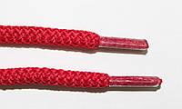 Шнурки круглые 6мм плотные, красный, фото 1