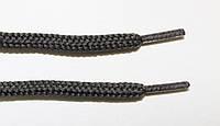 Шнурки круглые 5мм с наполнителем т.серый, фото 1