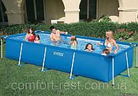 Прямоугольный бассейн Intex Rectangular Frame Pools (4,5x2,2x0.85m)